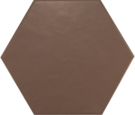 HEXATILE Marron Mate 17,5x20                                                     ( 20548 )